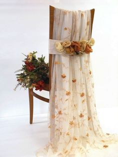 Romantic wedding chair cover for the by ClassyInteriorsDeco, $50.00