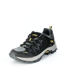Der perfekte Schuh für jedes Terrain. Dank der Contex-Membrane bist du für jedes Wetter gerüstet und dank seines starken Profils hast du den Grip den du brauchst. ConWay, Herren Outdoor – Wanderschuhe – Toronto – black grey yellow; Jetzt in 360° Ansicht, nur auf PLAZA51!