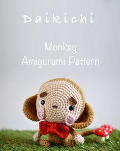 monkey amigurumi pattern