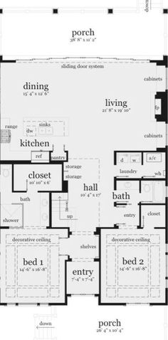 Saltwater House Plan by Tyree House Plans Coastal House Plans, Beach House Plans, Southern House Plans, Bungalow House Plans, Family House Plans, Cottage House Plans, Bedroom House Plans, Modern House Plans, Small House Plans