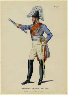 BAYERN - Feldmarschall Karl Philipp Furst Wered (1767-1838) 7 März 1814