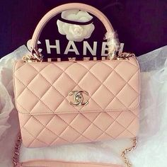 Chanel. ♡ I really wanna own a Chanel bag someday!
