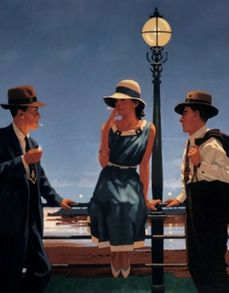 The Game Of Life--Jack Vettriano