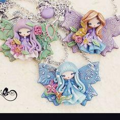 Now on my shop Www.etsy.com/shop/zingara creativa  #etsyfinds #etsyseller #shopping #handmade #fimo #polymerclay #zingaracreativa #moda #art #arte #fashion #instagood #instadaily #instalike #doll #dolls #clay #fairy #fairies #claycharms #clay #butterfly #doll #leafs #country