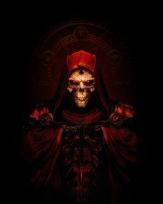 Diablo II: Resurrected on Behance Diablo Game, Diablo Ii, Video Game Posters, Modelos 3d, 3 Arts, God Of War, Over The Moon, World Of Warcraft, Dark Fantasy