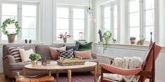a quieter storm Oslo, Quiet Storm, Villa, Interiors Online, Living Room Inspiration, Interior Inspiration, Scandinavian Style, Accent Chairs, Sweet Home
