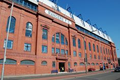 Rangers FC, Ibrox Park , Glasgow.