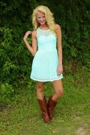 cute! love the shoes with this dress:}