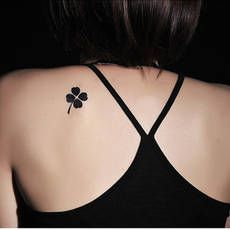 four leaf clover heart tattoo tiny - Google Search