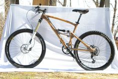 Full Suspension Bamboo Bike