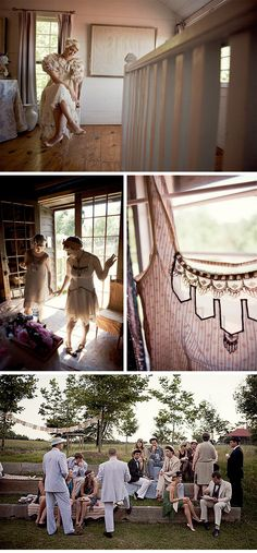 would love to have a 1920s inspired wedding