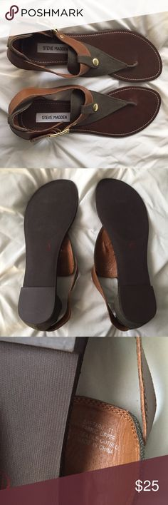 Steve Madden Olive Green/Brown Sandals Steve Madden Olive Green/Brown Sandals size 11 Saffarri style- brand new with no tags, never worn! ---- 🚭 All items are from a non-smoking home. 👆🏻Item is as described, feel free to ask questions. 📦 I am a fast shipper with excellent ratings. 👗I do bundle discounts and am open to trades. 😍 Like this item? Check out the rest of my closet! 💖 Thanks for looking! Steve Madden Shoes Sandals