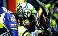 Valentino Rossi, I speak to her every now & then also.
