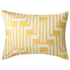 Room Essentials® Geo Sham - Yellow