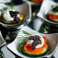 ROE Caviar Appetizer | Bakers Royale