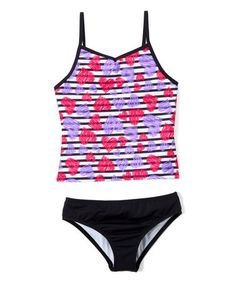 Breaking Waves Little Girls Animal Planet Bikini Swimsuit