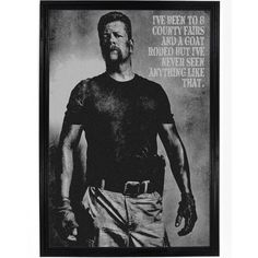 Walking Dead - Abraham In Points Poster