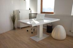 Spaceist - Milk height adjustable standing desk