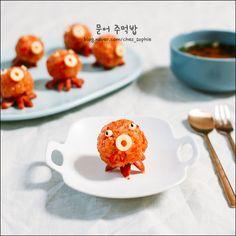 먹기 아까울 정도로 귀여운 '문어 주먹밥' 만들기 : 네이버 블로그