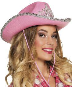 Bling bling -cowboyhattu, pinkki
