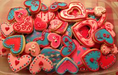 Second attempt with Valentines day cookies. I had a great teacher and my obsession officially was sparked.