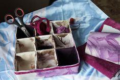 Мастер-класс по изготовлению коробки с разделителями для мелочей – Ярмарка Мастеров