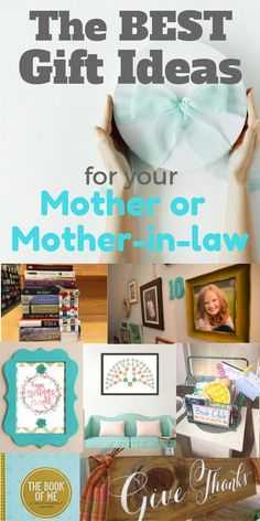 If you are looking for an amazing gift idea for hard to buy for mother or mother in law, here are creative and unique gifts for your mom or mother-in-law.