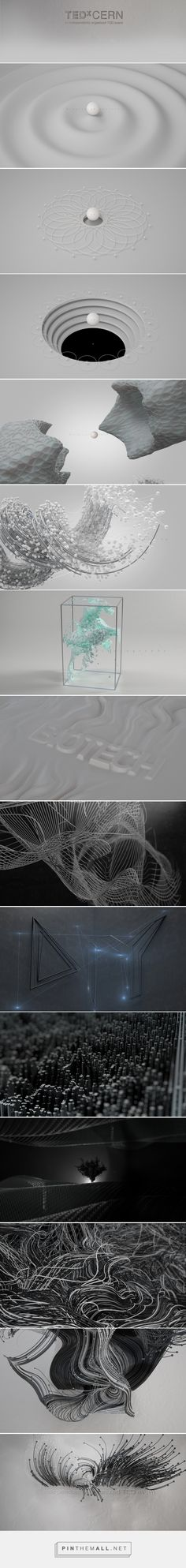 TEDxCERN _ Main Titles on Behance - created via https://pinthemall.net