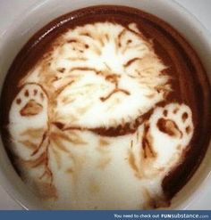 The Most Satisfying Cappuccino Latte Art - Coffee Brilliant Coffee Latte Art, I Love Coffee, Coffee Cafe, Coffee Break, Coffee Drinks, Cappuccino Art, Coffee Shop, Drinking Coffee, Morning Coffee