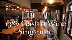 For all my Singapore wine lovers. Check out 13% Gastro Wine. I did this promo video for them. :) Another Traveler