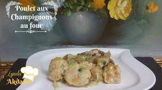 poulet aux champignons en sauce blanche au four, recettes ramadan 2017