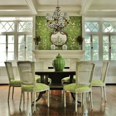 Nice chandelier.  Laurel Bern Interiors Portfolio | Westchester County, New York