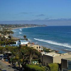 Quem mais queria começar a sexta feira com esse mar azul lindo? Essa foi tirada em #Malibu na Califórnia! #mydestinationanywhere