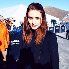 Rooney Mara at the 2014 Sundance Film Festival! I love how she's mastered the art of looking beautiful without even trying! #rooneymara #gorgeous #love #pretty #beautiful #girl #actress #celebs #song #one #sundance #film #festival #flawless #perfect #eyes #smile