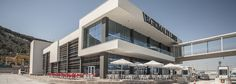 Client_ Estrella Damm Project_ Terrace bars design Location_ SB Hotels _Grimaldi Lines (Barcelona Port) Role_ Design and construction