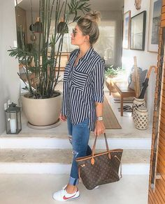 Summer casual and trendy outfits- Sommer lässige und trendige Outfits Summer casual and trendy outfits, - Trendy Summer Outfits, Chill Outfits, Spring Outfits, Casual Outfits, Fashion Outfits, Vacation Outfits, Ootd Summer Casual, Womens Fashion, Fashion Ideas