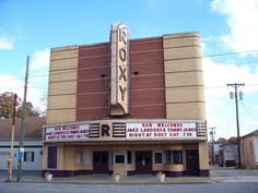 Roxy Theater - Russellville Alabama- this is where my grandparents had their first date. :)