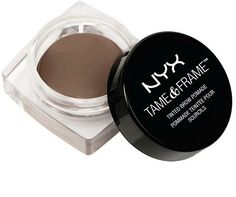 NYX Professional Makeup Tame & Frame Brow Pomade-Espresso oz DescrptionGive extra life to your brows with our easy-to-use brow pomade that glides onto skin and hair. Our smudge-proof waterproof formula comes in five shades. How To Color Eyebrows, Perfect Eyebrows, Threading Eyebrows, Face Threading, Brow Pomade, Brow Wax, Dip Brow, Eyebrow Makeup, Colorful Makeup