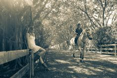 """A sneak peek from a shoot I call """"They Shoot Horses, Don't They?""""  Model: Desiree @Desiree van den Berg , Equestrian Talent: Cyrus and his owner."""