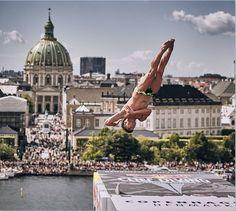 Red Bull Clif Diving 2016: Na 2ª etapa em Copenhaga só os homens vão à Ópera