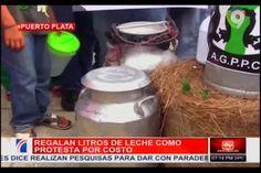 En Puerto Plata Regalan Litros De Leche Como Protesta Por Costo