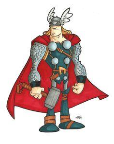 The Mighty Thor by tyrannus.deviantart.com on @deviantART