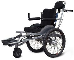 Offroadchairs DH1, (Off-Road duwrolstoel Off-Road Push Wheelchair)