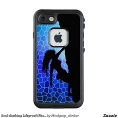 Soul climbing Lifeproof iPhone 7 case