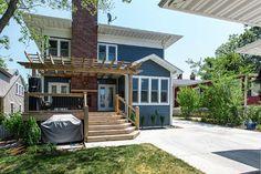 Cedar Deck and Pergola - traditional - exterior - st louis - Hibbs Homes, LLC
