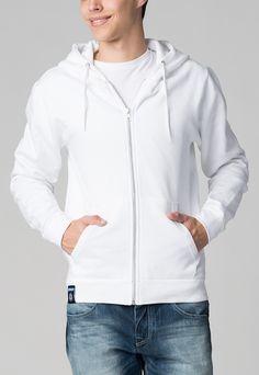 Biaggio  Man Jason White Hoodie    192,90 лв.  40,90 лв.    Описание на продукта  Бял анорак с характеристики:  - лого  - свободна кройка  - качулка с бяла регулируема връзка  - 2 джоба отпред  - дълги ръкави  - затваряне с цип отпред.    Състав  80% памук, 20% полиестер    Код на продукта  BIAGGUS-WHITE