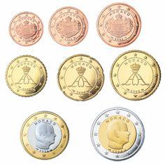 Alle euromunten - Euromunten en biljetten O Euro, Coins, Monogram, Money, Rooms, Monograms