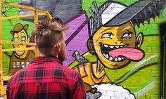 Hosier Lane Street Art November 2013