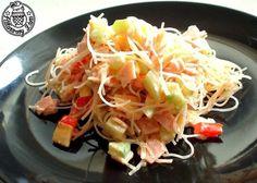 Sałatka z makaronu chińskiego