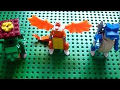 ▶ Lego Pokemon + Instructions Part 1 – Venusaur, Charizard, and Blastoise – Yo… ▶ Lego Pokemon + Anleitung Teil 1 – Venusaurier, Charizard und [. Lego Pokemon, Pokemon Party, Cool Pokemon, Lego Sets, White Sharpie, Charizard, Pokemon Venusaur, Lego Animals, Lego Boards